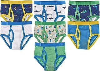 Boys Soft Cotton Colorful Briefs Pack of 7 Kids Underwear
