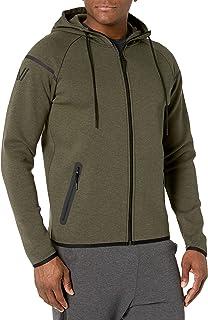 Peak Velocity Men's Metro Fleece Full-Zip Athletic-Fit Hoodie