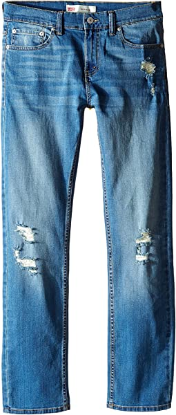 Levi's® Kids 511 Slim Destruction Jeans (Big Kids)