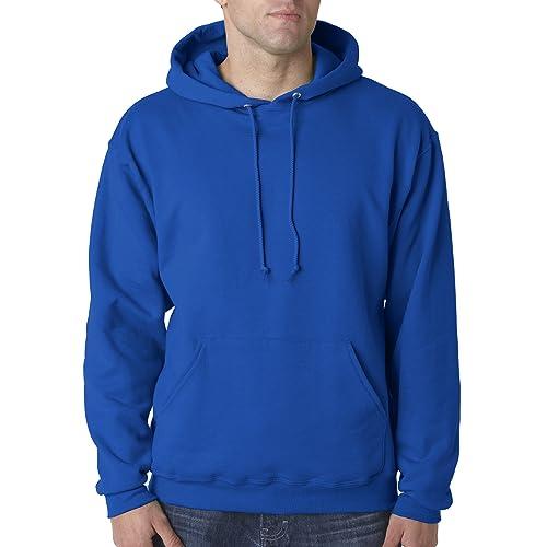 Jerzees Men s NuBlend Hooded Pullover Sweatshirt dc6719f377b