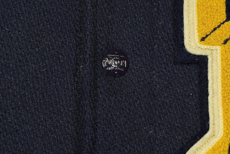Polo Ralph Lauren Men's Wool Letterman Varsity Patch Jacket