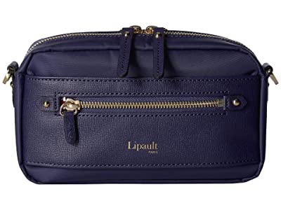 Lipault Paris Plume Avenue Belt Bag (Night Blue) Handbags