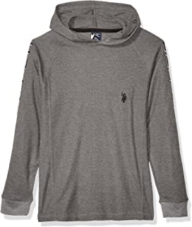 Boys' Hooded Thermal Popover Shirt