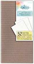 Momenta Explorer Journal Lined Paper Inserts, Brown