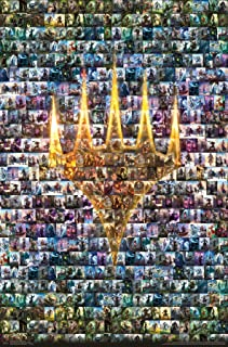 Trends International Magic The Gathering-Collage Mount Wall Poster, 22.375