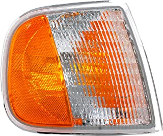 Dorman 1630261 Front Passenger Side Turn Signal / Parking Light Assembly for Select Ford Models