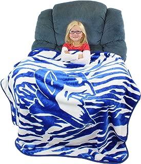 College Covers Duke Blue Devils Super Soft Raschel Throw Blanket, 50