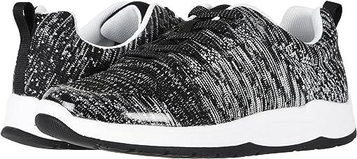 Black/White Knit