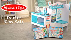 Amazon Com Melissa Doug Get Well Doctor S Kit Play Set