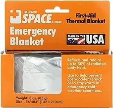 Grabber Outdoors The Original Space Brand Emergency Survival Blanket, Silver, 3oz. 56