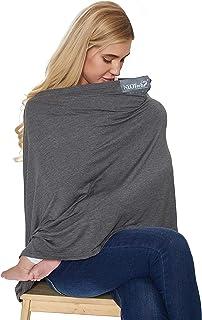 (Grey) - Neotech Care Nursing Breastfeeding Cover Scarf - Soft Fabric - Grey