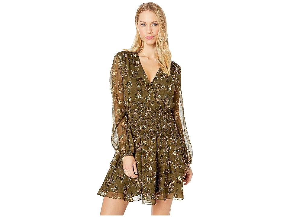 Bardot - Bardot Ditsy Shirred Dress