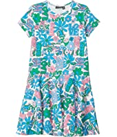 Love Short Sleeve Dress (Toddler/Little Kids/Big Kids)