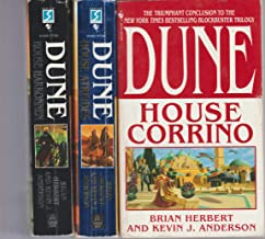 Frank Herbert Set of Dune Novels. House of Harkonnen, House Atreides