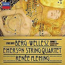 Berg Lyric Suite Wellesz Sonnets By Elizabeth Barrettbrowning