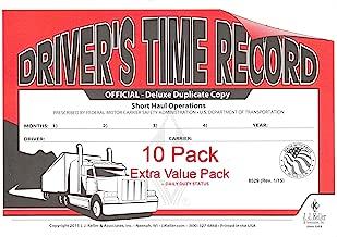 driver's exemption log short haul operations