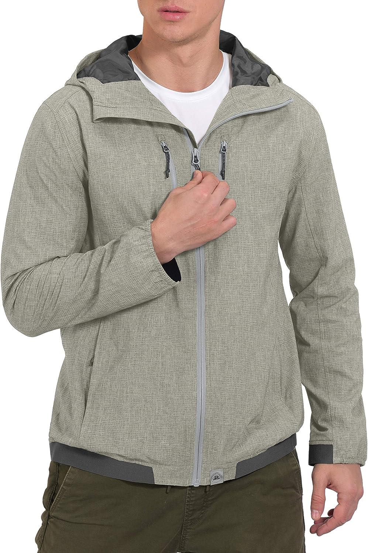 Under blast sales Mapamyumco Men's Breathable Bombing new work Light Spring Hood for Jacket Hi with