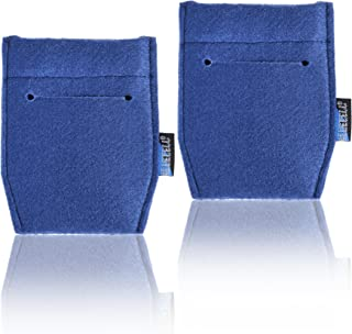 BCP 2-Piece Pocket Square Card Holder for Man's Suits