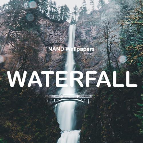 NANDA Wasser - Schöne Wasserfall Tapete
