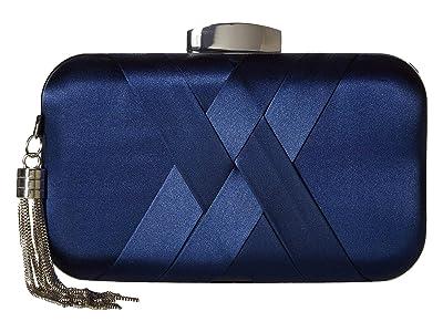 Jessica McClintock Molly Minaudiere (Navy) Clutch Handbags