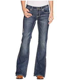 Stetson 816 Fit Medium Wash Thick Contrast Top Stitch