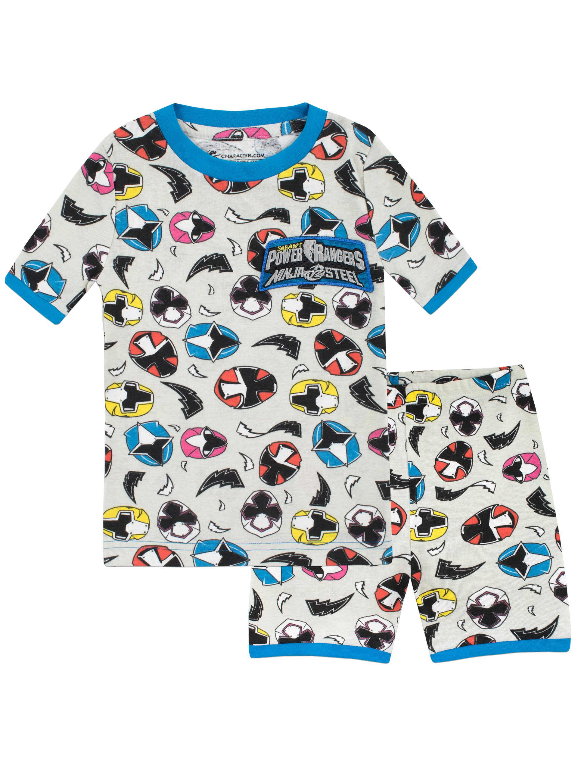 Boys Power Rangers Long Pyjamas 3 to 10 Years Pjs W18