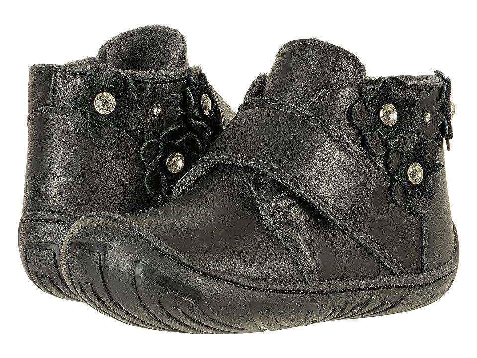 UGG Kids Jorgen Petal (Toddler) (Black) Girls Shoes