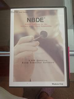 NBDE (National Board Dental Examination) Review 4,600 Sample Questions, NBDE Part I Review, Windows PCs Only