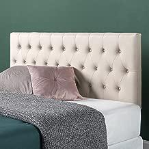 Best queen bed upholstered headboard Reviews