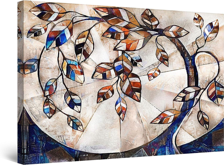 Startonight Canvas 激安通販専門店 Wall Art Abstract P - Tree Inception ギフト