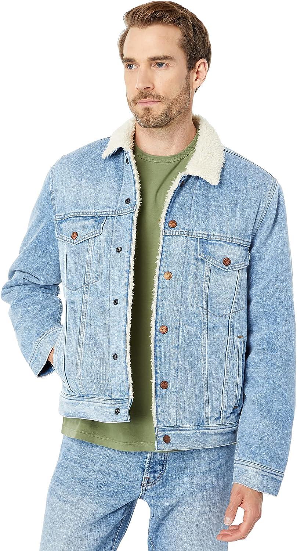 Madewell Sherpa Denim Jacket