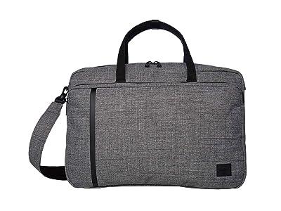 Herschel Supply Co. Bowen (Raven Crosshatch) Tote Handbags