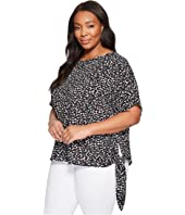 MICHAEL Michael Kors - Plus Size Mini Finley Tie Top