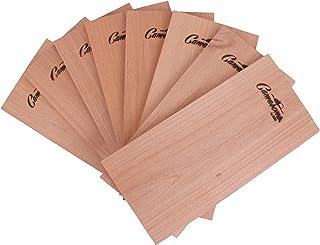 Grilling Planks - 8 Pack Alder - Premium Thicker Alder for Barbecue Salmon, Seafood, Steak, Burgers, Pork Chops, Vegetable...