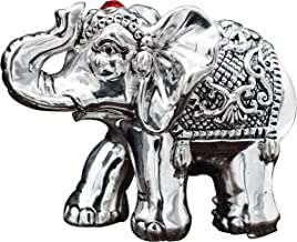 CaratCafe Pure Silver 999 Elephant Idol Symbol of Lord Ganesha/Buddha/FENG Shui for Diwali Year, Spiritual Worship, Wealth, Luck & Prosperity { NT Weight 26-30 Grams}