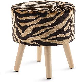leopard print stool