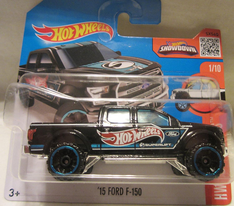 2016 Hot Wheels HW Hot Trucks '15 Ford F150 1 10 Short Card
