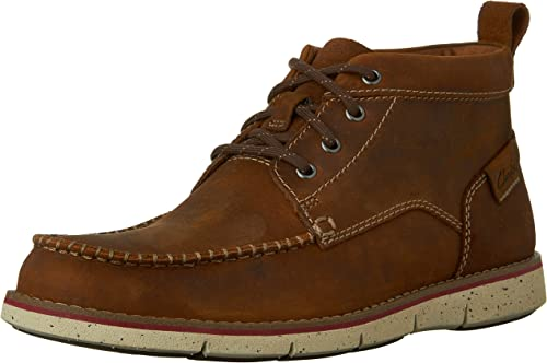 Clarks Men& 039;s Kyston Mid Ankle Stiefel