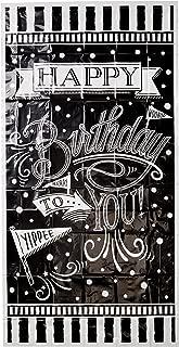 chalkboard happy birthday banner