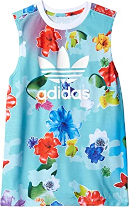 adidas Originals Kids - Flower L Tank Top (Toddler/Little Kids/Big Kids)
