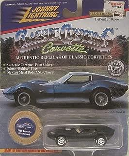 Johnny Lightning Classics Customs 1965 Corvette Mako Shark [Black] Limited Edition Die Cast Car!