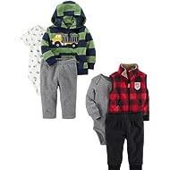 Carter's Boys' 6-Piece Jacket and Vest Set
