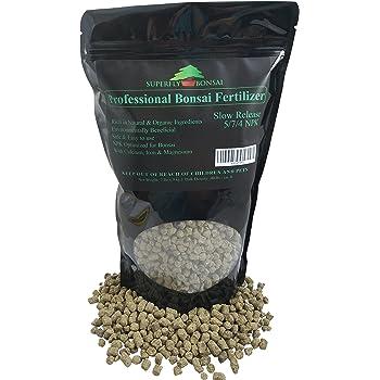 Amazon Com Professional Bonsai Fertilizer Rich In Organic Natural Ingredients Slow Release Immediately Fertilizes And Then Fertilizes Over 1 2 Months Good 4 House Plants Cactus Succulents 2 Pound Garden Outdoor