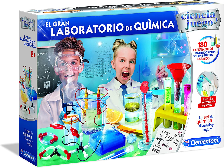 Multicolore 52399 Clementoni Science /& Jeu-Laboratoire dindagine