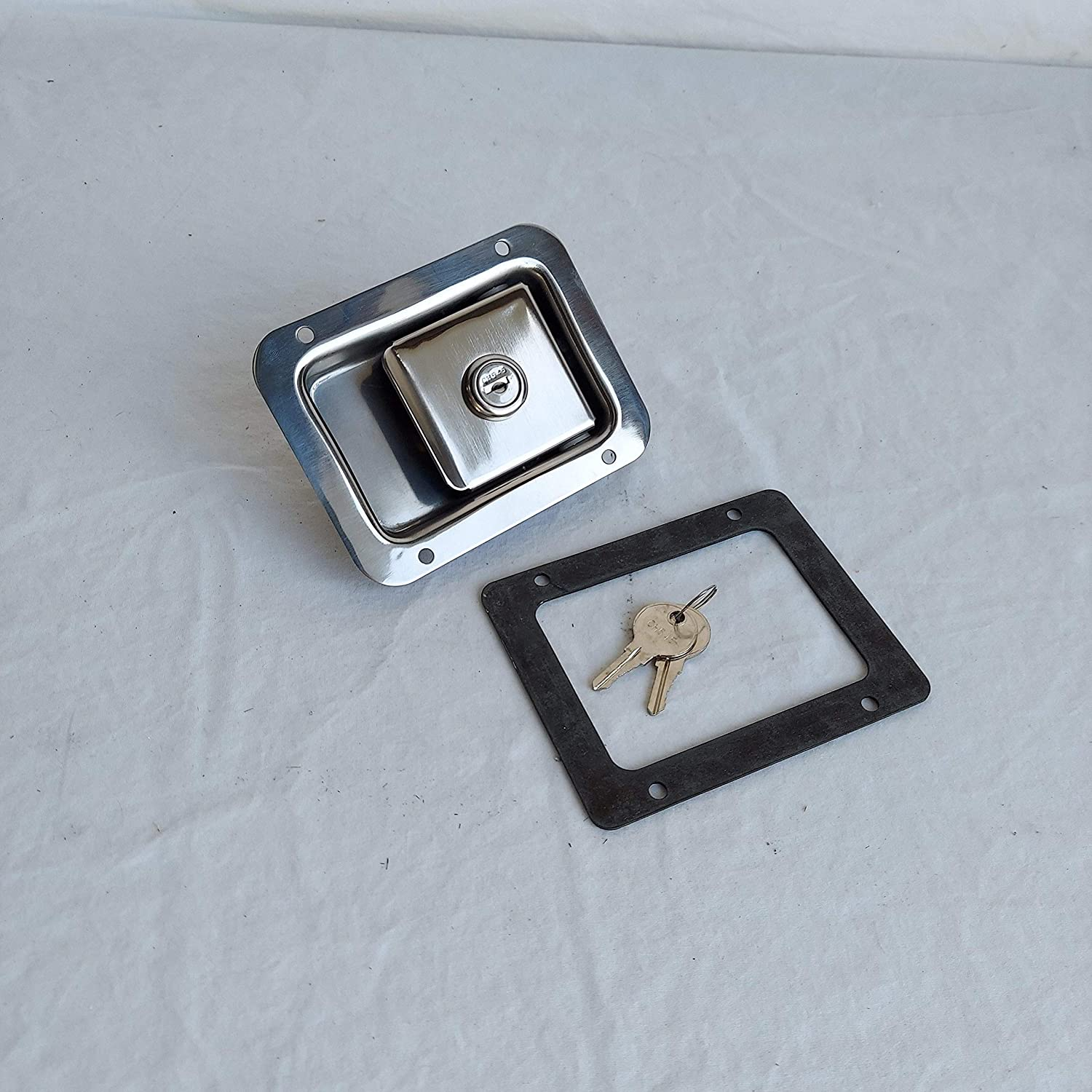 Stainless Paddle Latch Truck Tool Box Raleigh Mall Lock Popular brand x 3.75