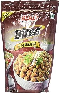 Real Namkeen, Bites Sing Bhujia, 400 Grams(gm)