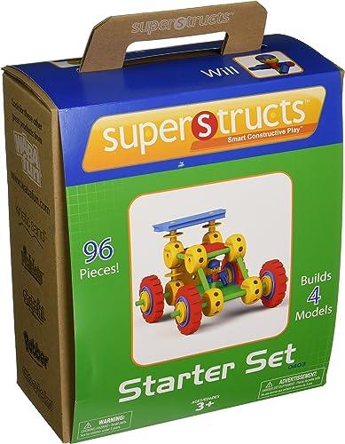 Superstructs - MTST0403 - Jeu de construction - Le bolide 1
