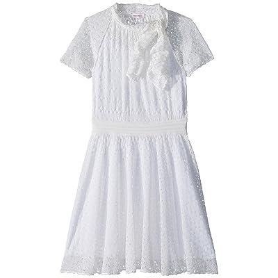 Missoni Kids Mini Miss Lace Dress (Big Kids) (White) Girl
