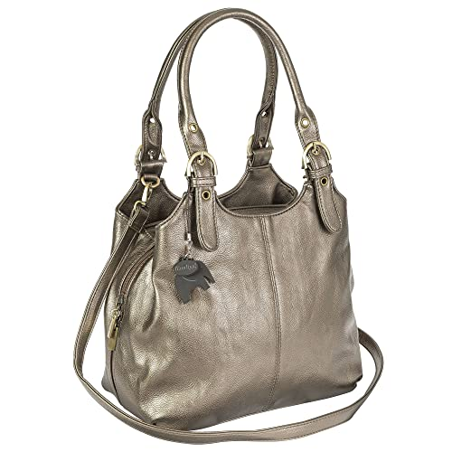 45d8f113fad2f BHSL Womens Multiple Pockets Medium Size Long Strap Shoulder Bag - with a  Branded Protective Storage