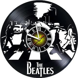 Best beatles vinyl clock Reviews